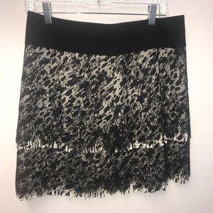 Ann Taylor Women's Animal Print Skirt Size 6P